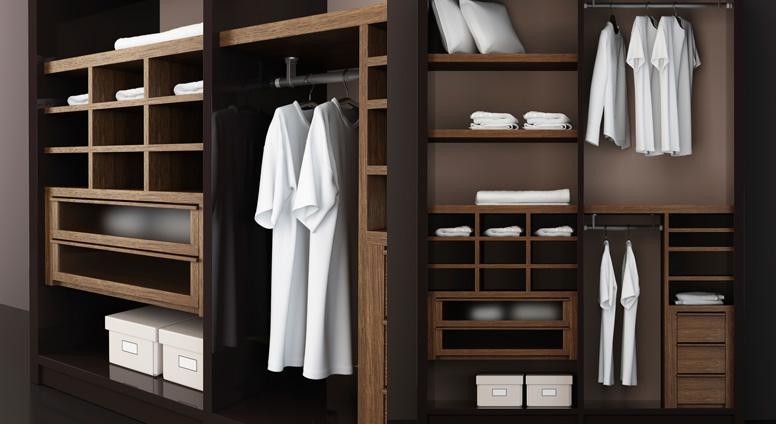F brica de closets puertas y salas modernas for Closets modernos para parejas